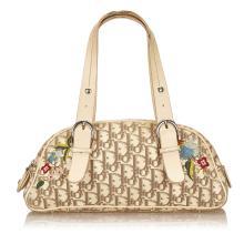 Dior - Floral Jacquard Handbag
