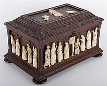 A Rare Jewellry Box with Ivory Sculptures - Henri Jacob (1753 – 1824)