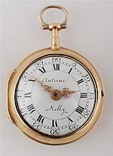 Gold pocket watch Antoine Melly