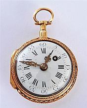 Gold pocket watch labeled Lépine A Paris