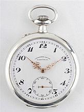 Silver Pocket watch Uhrenfabrik Glashütte