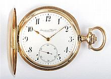 International Watch Co. Schaffhausen gold pocket watch