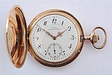 Julius Assmann Glasshütte - gold pocket watch