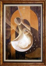 Nativity Lalo Garcia Limited Edition on canvas