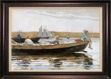 Winslow Homer Boys in a Dory
