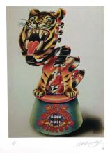 Alan Aldridge Limited Edition Giclee Rock n Roll Circus