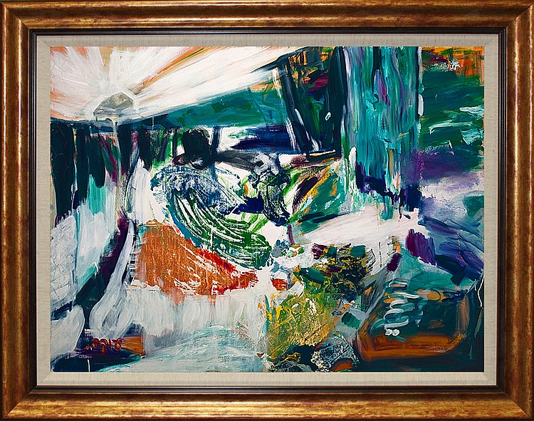 Abstract by Sylvia Adler Limited Edition