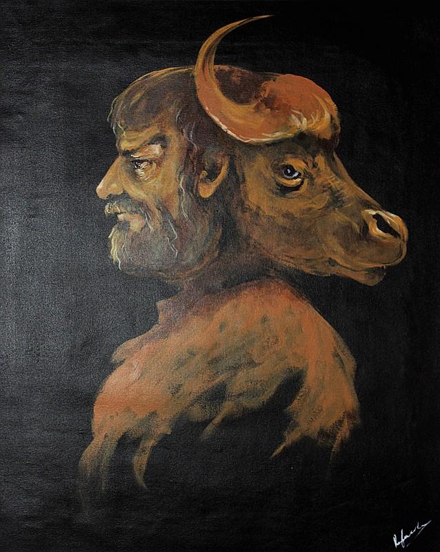 Original Oil on canvas Rafael Saryan