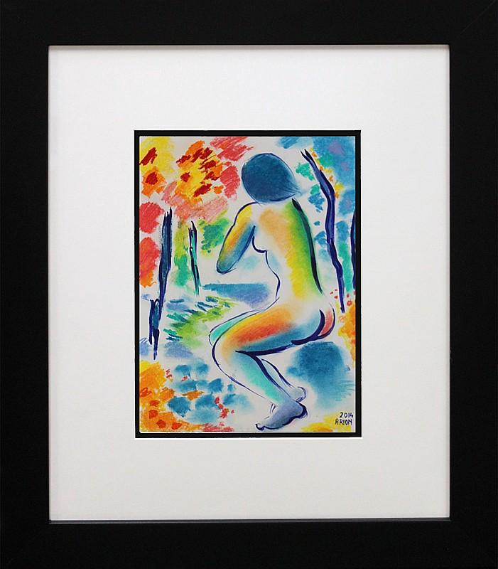 Original Nude by Katherine Arion