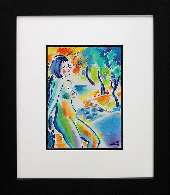 Original Nude by Katherine Arion