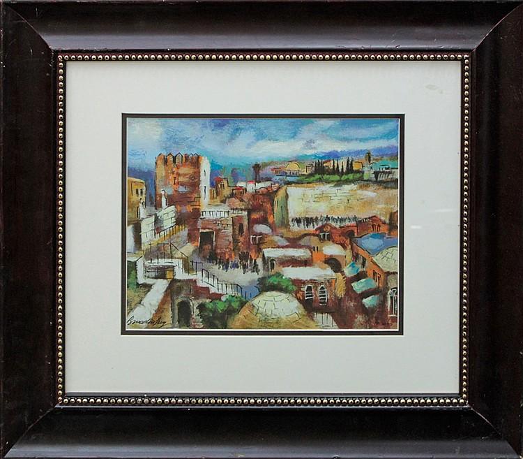 Slava Brodinsky Limited Edition on canvas