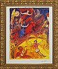 Marc Chagall-Limited Edition Giclee-Circus