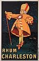 French Poster Rhum Charleston