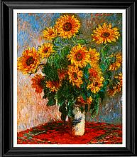 Claude Monet Limited Edition Sunflowers