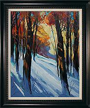 Michael Schofield-Original Oil Landscape