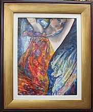 Allura-Original Oil Painting-Alluring Hand Signed
