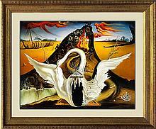 Salvador Dali-Limited Edition Lithograph-Bacchanale