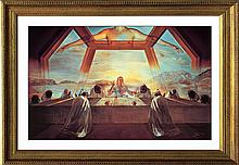 Salvador Dali-Limited Edition Lithograph Last Supper