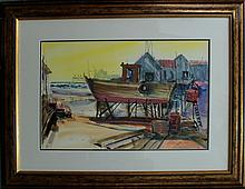 Michael Schofield Original Watercolor