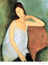Modigliani Jeanne Hebuterne Lithograph