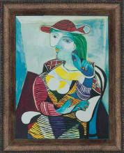 Pablo Picasso-Limited Edition Giclee-Portrait of Marie