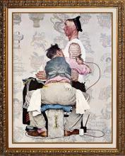Norman Rockwell The Tatooist Giclee
