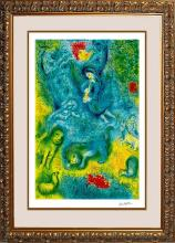 Marc Chagall Limited Edition Lithograph Magic Flute