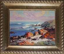 Rafael Original Oil-Against the Sea  sold