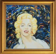 Marilyn Monroe by Arina Original Oil on canvas