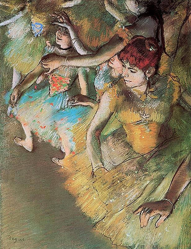 Edgar Degas- Limited Edition Giclee-Ballet Practise