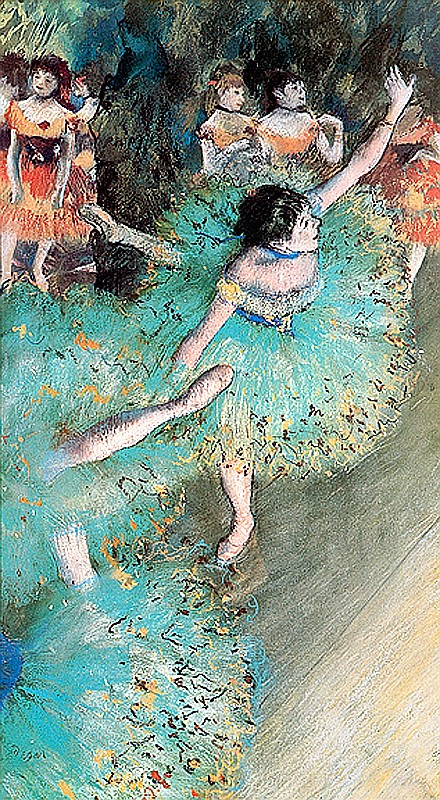Edgar Degas- Limited Edition Giclee-Arabesque