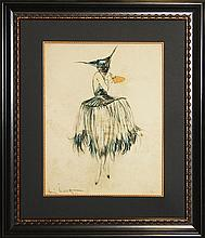 Louis Icart Limited Edition Giclee Masquerade