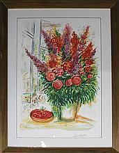 Marc Chagall- Ltd Edition Lithograph- Bowl of Cherries