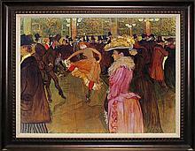 1899 Toulouse Lautrec Moulin Rouge II