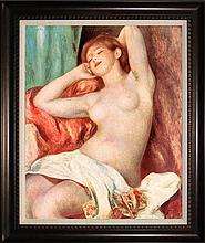 Pierre Renoir-Nude Study