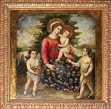 Virgin Mary Original Oil on canvas