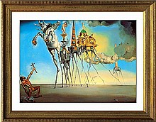 Salvador Dali Ltd Ed The Temptation of St Anthony