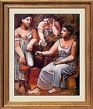Pablo Picasso-Limited Ed-Three Women and the Spring