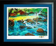 Michael Schofield Original Oil Rocky Pond