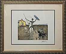 Salvador Dali Hand Signed Lithograph The Impossible Dream