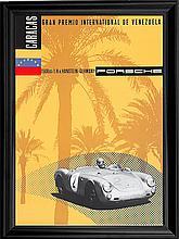 Porsche Venezuela Poster