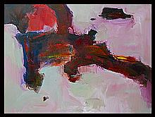 Michael Schofield Original Oil Abstract on Canvas