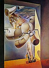 Salvador Dali Limited Edition Young Woman