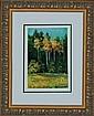 Lara-Original Oil Hand Signed -Golden Trees