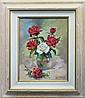 Rafael-Original Oil, Hand Signed -Roses