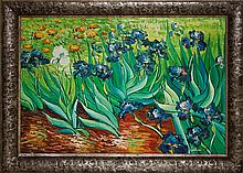 Cellini-Original Oil-Irises