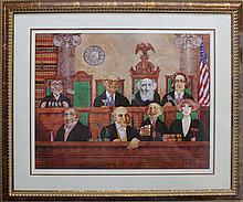 Charles Bragg -Supreme Court Lithograph