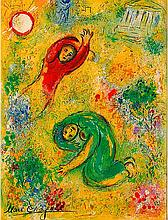 Marc Chagall Limited Edition Daphne & Chloe Trampled Flowers