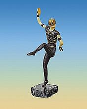 Chiparus The Russian Dancer Bronze Ivory Sculpture