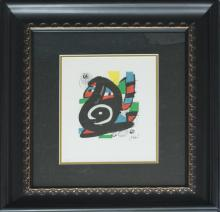 Joan Miro Limited Edition Lithograph